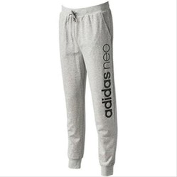 Quần Adidas Men Neo Modern Logo Track Pants Grey CD3262