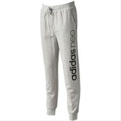 Quần Adidas Men Neo Modern Logo Track Pants Grey CD3262