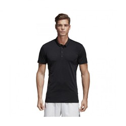 Áo Adidas Men Performance Tennis Heathered Polo Black CV9915 Size M