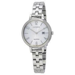 Đồng Hồ Nữ Citizen Chandler Silver Dial Ladies Watch EW2440-53A