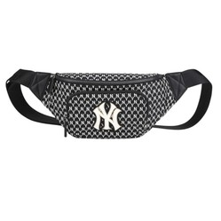 Túi Đeo Hông MLB New York Yankee Monogram Belt Bag Black
