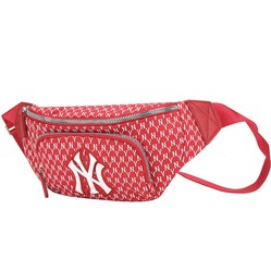 Túi Đeo Hông MLB New York Yankee Monogram Belt Bag Red