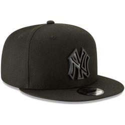 Mũ Men's New York Yankees New Era Black Metal Stack 9FIFTY Adjustable Hat
