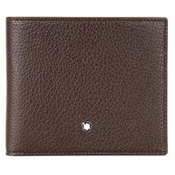 Ví Montblanc Meisterstuck 8CC Leather Wallet - Brown