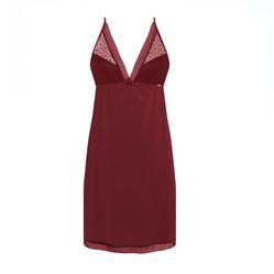 Đầm Ngủ Corele V. - Nuisette N022A Đỏ Booc-Đô L
