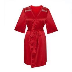 Áo Ngủ Corele V. - Kimono K0267A Đỏ L