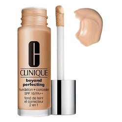 Kem Nền Che Khuyết Điểm Clinique Beyond Perfecting Foundation And Concealer SPF 19/PA++ #Fresh Beige 30ml