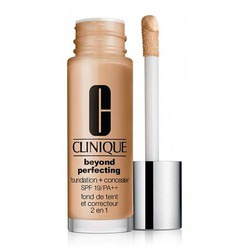 Kem Nền Che Khuyết Điểm Clinique Beyond Perfecting Foundation And Concealer SPF 19/PA++ #Cream Beige 30ml