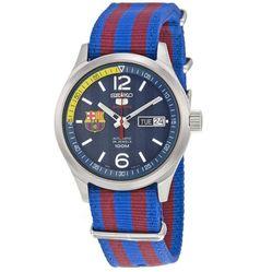 Đồng Hồ Seiko Sports Military Blue Và Red SRP303J1
