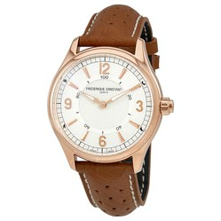 Đồng Hồ Đồng Hồ Frederique Constant Horological Silver Dial Men's Smart Watch FC-282AS5B4