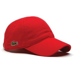 Mũ Lacoste Men's Gabardine Cap Red