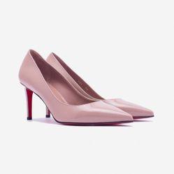 Giày Cao Gót Giovanni DM016-BE Màu Be Size 36.5