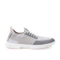 Giày Nam Geox U TRACCIA B KNIT.TEX+ELASTIC Màu Trắng Xám Size 44