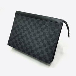 Túi Louis Vuitton Voyaga MM Damier Graphite Clutch