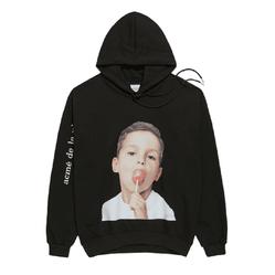 Áo Hoodie ADLV Baby Face Candy Màu Đen