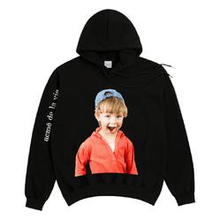 Áo Hoodie Acme De Lavie Baby Face Red Hoodie Boy Màu Đen