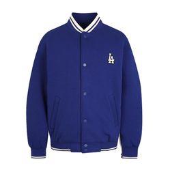 Áo Khoác Nỉ MLB LA Dodgers Neoprene Baseball In Blue Màu Xanh Dương
