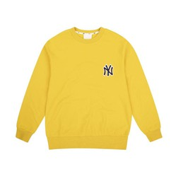 Áo Nỉ Sweatshirts MLB New York Yankees Chain Embroidery Comfort Màu Vàng