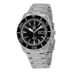 Đồng Hồ Seiko Fifty Five Fathoms Automatic Black Dial Men's Watch SNZH55