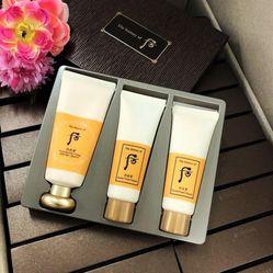 Kem Bảo Vệ Da & Hỗ Trợ Giảm Nhăn Da Whoo Essential Sun Cream SPF50+/PA+++