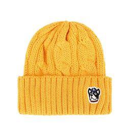 Mũ Len MLB Hình Con Chó Màu Vàng