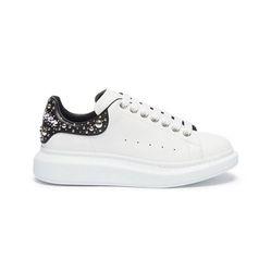 Giày Alexander McQueen Oversized Sneaker Phối Màu Trắng - Đen
