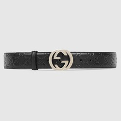 Thắt Lưng Gucci Signature Leather Belt