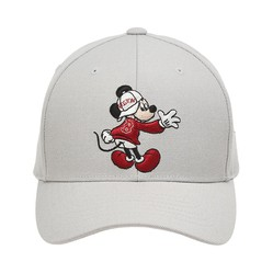 Mũ MLB X Disney Adjustable Cap Boston Red Sox Màu Trắng Xám