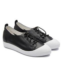 Giày Slip On Nữ Pazzion 319-3 Màu Đen Size 34