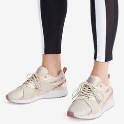 Giày Sneaker Puma Muse X-2 Metallic Màu Xám