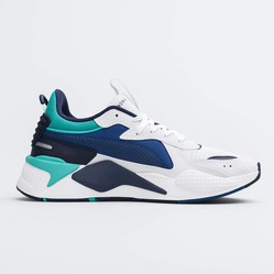 Giày Sneakers Puma RS-X Hard Drive Mens White/Galaxy Blue