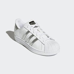Giày Thể Thao Nữ Adidas Originals Superstar Màu Trắng