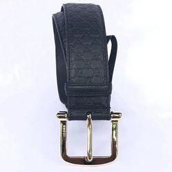 Thắt Lưng Gucci Calfskin Monogam Black 40mm Belt