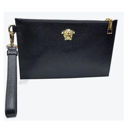 Túi Clutch Versace SS19 Màu Đen Cao Cấp