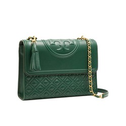 Túi Xách Tory Burch Fleming Convertible Shoulder/Cross Màu Xanh Green