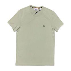 Áo Phông Burberry London England Cotton T-shirt Ss19 Màu Xanh Lục