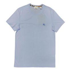 Áo Phông Burberry London England Cotton T-shirt Ss19 Màu Xanh Bạc
