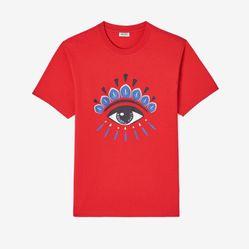 Áo Phông Kenzo Eye T-shirt Màu Đỏ