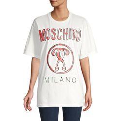 Áo Phông Moschino Logo Graphic Cotton Tee
