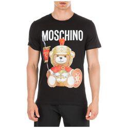 Áo Phông Moschino Roman Teddy Bear T-Shirt Black
