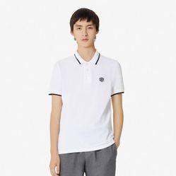 Áo Polo Kenzo Slim Fit Tiger Polo Shirt Màu Trắng