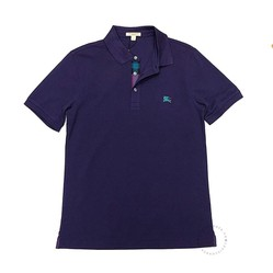 Áo Polo Buberry Cotton Short Sleeve Polo Shirt Màu Tím