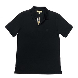 Áo Polo Burberry London England Black Polo Shirt Màu Đen