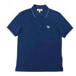 Áo Polo Burberry London England Short Sleeve Polo In Steet Màu Xanh Blue