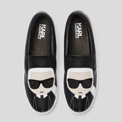 Giày Slip On Karl Lagerfeld K/Ikonik Kupsole  Màu Đen