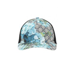 Mũ Gucci Blue GG Blooms Baseball Hat
