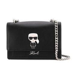 Túi Đeo Chéo Karl Lagerfeld K/Ikonik Shoulder Bag Màu Đen