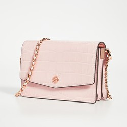 Túi Xách Tory Burch Robinson Embossed Mini Shoulder Bag Màu Hồng