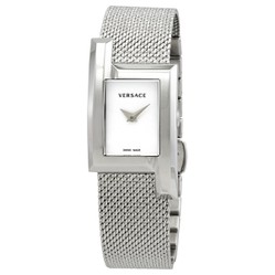 Đồng Hồ Versace Greca Icon Quartz White Dial Ladies Watch VELU00519