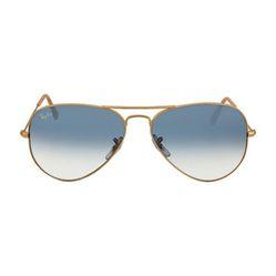 Kính Mát Rayban Aviator Arista Light Blue Gradient Lenses 58mm Sunglasses RB3025 001/3F 58-14